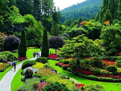باغ های بوچارت بریتیش کلمبیا