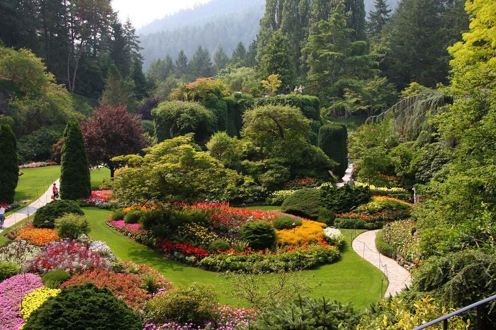 باغ بوچارت در ویکتوریا کانادا
