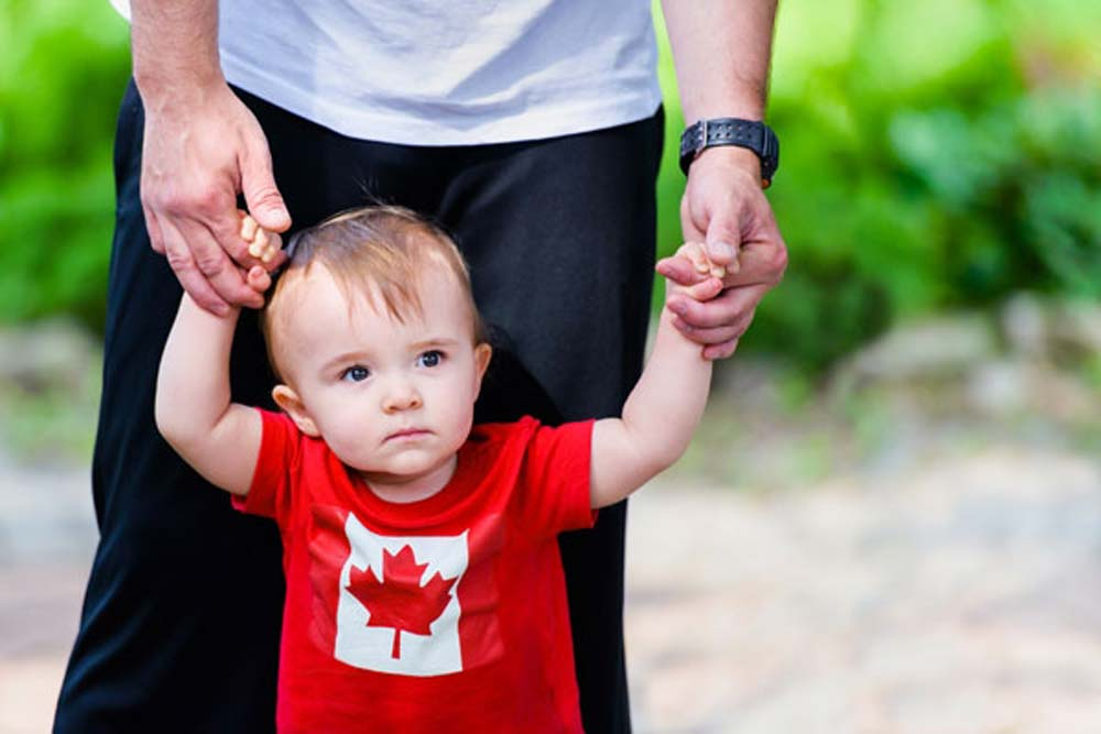 حق شهروندی کانادا با تولد