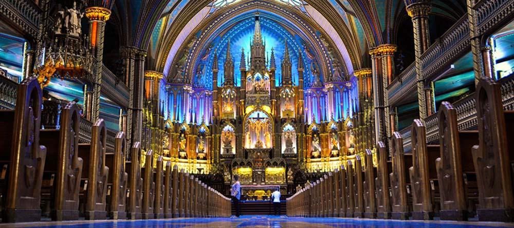 Montreal's Notre Dame Basilica