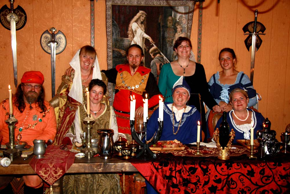 اقامتگاه قرون وسطایی