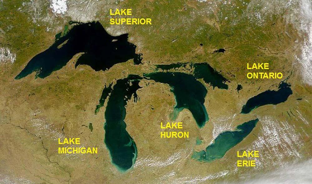 دریاچه های بزرگ کانادا