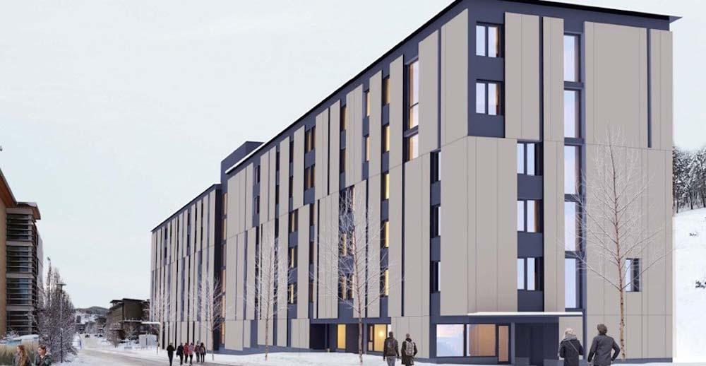 ساختمان دانشجویی