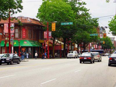 محله چینی ها در ونکوور