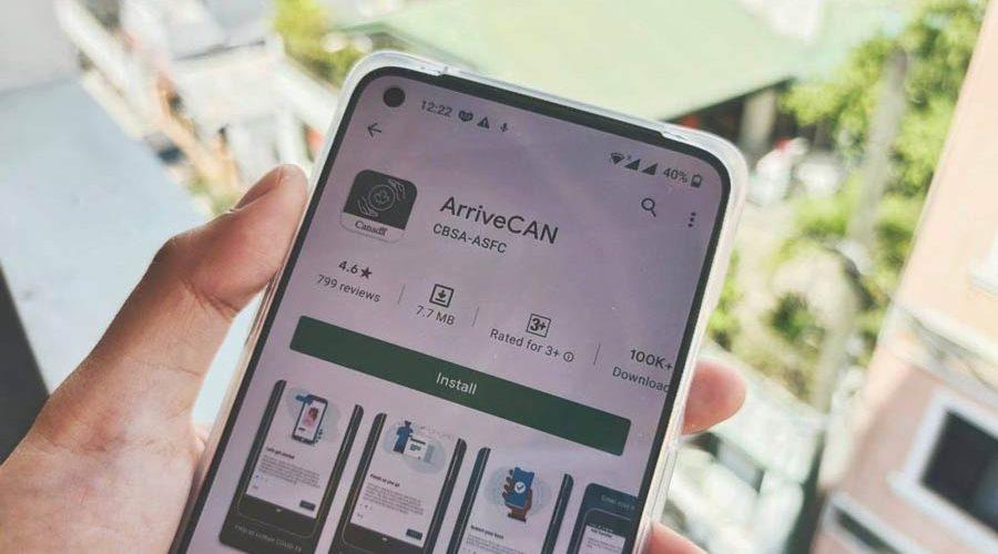 اپلیکیشن ArriveCAN